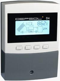 Sterownki solarne Depsol D4, regulator pod solary